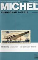 Rundschau MICHEL Briefmarken 10/2018 New 6€ Stamps Of The World Catalogue/magacine Of Germany ISBN978-3-95402-600-5 - Autres