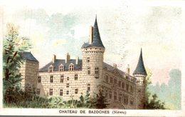 CHROMO A LA SCABIEUSE COSTUMES CONFECTION .. LYON  CHATEAU DE BAZOCHES  NIEVRE - Chromos