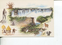 (40) Victoria Falls (UNESCO) In Zimbabwe - Zimbabwe