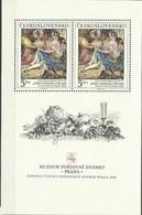 CSR 1988 PAINTING, CZECHOSLOVAKAI, S/S, MNH - Czechoslovakia