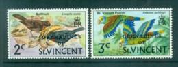 St Vincent Grenadines 1974 Bird Defins Reissue Vals MUH Lot72945 - St.Vincent E Grenadine