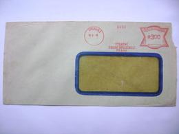 Czechoslovakia Cover 1948 Meter Stamp Freistempel Frankotyp PRAHA, Vysadni Obilni Spolecnost (Privileged Cereal Company) - Czechoslovakia