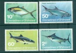 St Vincent Grenadines 1981 Fish MUH Lot72992 - St.Vincent & Grenadines