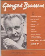 (GEO) GEORGES BRASSENS , Album Numero 12 De 9 Chansons - Scores & Partitions