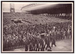 """DT- Reich (005902) Propaganda Sammelbild Deutschland Erwacht"""""""" Bild 148,Stapellauf Des Panzerschiffes Admiral Scheer 193 - Deutschland"""