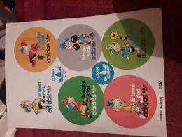Page 17x24 Cm D'autocollants  Adidas Dessin Coutant - Honkbal