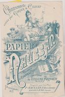 (GEO) LE PAPIER MAUSSAN ( Importante Marque De Papier à Cigarettes) Paroles GIRIER & CHAVAT Musique E .ARNAUD - Scores & Partitions