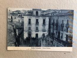 PETILIA POLICASTRO PIAZZA FILOTTETE 1929 - Catanzaro