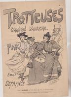 (GEO) TROTTEUSES , EMILE DEFRANCE , Illustration KIEFFER - Scores & Partitions