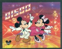 St Vincent Grenadines 1994 Disney, Disco Mickey & Minnie MS FU Lot80091 - St.Vincent & Grenadines