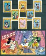 St Vincent Grenadines 1994 Disney, Mickey & Friends+ 2x MS Lot80107 - St.Vincent & Grenadines