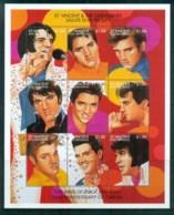 St Vincent Grenadines 1995 100th Anniv Of Cinema, Elvis Presley MS MUH - St.Vincent & Grenadines