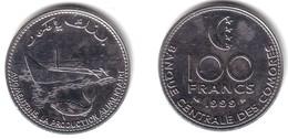 COMOROS, Islamic Republic - 100 Francs 1999 F.A.O. FISHERIES - KM#18 Unc - Comores