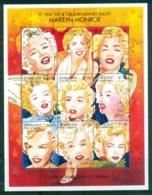 St Vincent Grenadines 1995 100th Anniv Of Cinema, Marilyn Monroe MS MUH - St.Vincent & Grenadines