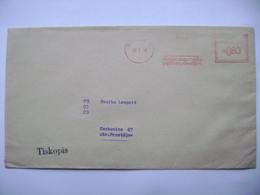 Czechoslovakia Cover 1949 Meter Stamp Freistempel Frankotyp PROSTEJOV Okresni Nemocenska Pojistovna (insurance Company) - Czechoslovakia
