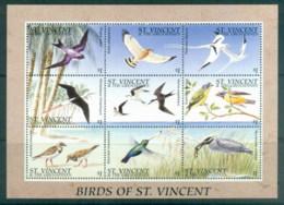 St Vincent Grenadines 1996 Birds Of St Vincent MS MUH - St.Vincent & Grenadines