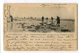 Ref 200 - COUTAINVILLE PLAGE - (CARTE PIONNIERE De 1903  - Scan Du Verso) - Autres Communes