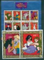 St Vincent Grenadines 1996 Disney, Hunchback Of Notre Dame, Sheetlet + 2x MS FU Lot79384 - St.Vincent & Grenadines