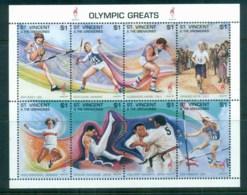 St Vincent Grenadines 1996 Summer Olympics, Atlanta $1 MS MUH - St.Vincent & Grenadines
