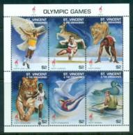 St Vincent Grenadines 1996 Summer Olympics, Atlanta $2 MS MUH - St.Vincent & Grenadines