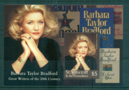 St Vincent Grenadines 2000 Barbara Taylor Bradford MS MUH Lot66609 - St.Vincent & Grenadines