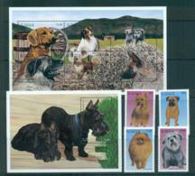 St Vincent Grenadines 2003 Dogs + 2x MS MUH Lot66611 - St.Vincent & Grenadines