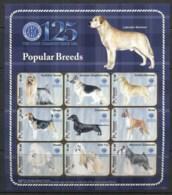 St Vincent Grenadines 2009 Dogs, Popular Breeds Sheetlet MUH - St.Vincent & Grenadines