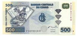 Congo - 500 Francs 2002 - Congo