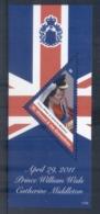 St Vincent Grenadines 2011 Royal Wedding William & Kate #1125 $6 MS MUH - St.Vincent & Grenadines