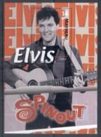 St Vincent Mayreau 2010 Elvis Presley 75th Birthday, Spinout MS MUH - St.Vincent & Grenadines