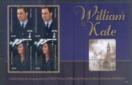 St Vincent Mayreau 2011 Royal Engagement William & Kate #1016 $2.50 MS MUH - St.Vincent & Grenadines