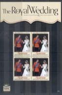 St Vincent Mayreau 2011 Royal Wedding William & Kate #1103 $2.75 MS MUH - St.Vincent & Grenadines