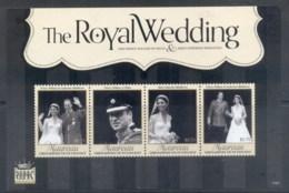 St Vincent Mayreau 2011 Royal Wedding William & Kate #1104 $2.75 MS MUH - St.Vincent & Grenadines