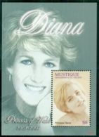 St Vincent Mustique 2007 Princess Diana In Memoriam, 10th Anniv., Portrait Of A Princess MS MUH - St.Vincent & Grenadines