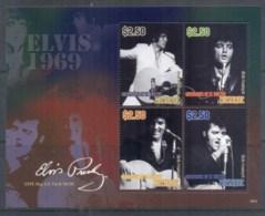 St Vincent Mustique 2010 Elvis Presley 75th Birthday MS MUH - St.Vincent & Grenadines
