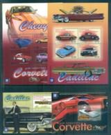 St Vincent Mustique 2010? GM Classic Cars 4x MS MUH Lot80012 - St.Vincent & Grenadines