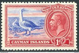Cayman Isl. 1935. SG #98 VF/MNH. KGV. Booby Birds (Ts17) - Cayman Islands