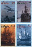 Ref. 82985 * NEW *  - GAMBIA . 2001. THE ROYAL NAVY. LA ROYAL NAVY - Gambia (1965-...)