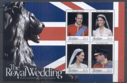 St Vincent Mustique 2011 Royal Wedding William & Kate #1107 $2.75 MS MUH - St.Vincent & Grenadines