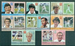 St Vincent Union Is 1984 LOW Cricket Players MUH - St.Vincent & Grenadines