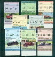 St Vincent Union Is 1984-87 LOW Locomotives & Trains III MUH Lot73033 - St.Vincent & Grenadines