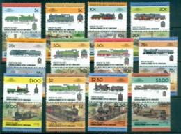 St Vincent Union Is 1984-87 LOW Locomotives, Trains Asst. MUH - St.Vincent & Grenadines