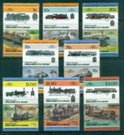 St Vincent Union Is 1984-87 LOW Locomotives, Trains Asst. SPECIMEN MUH - St.Vincent & Grenadines