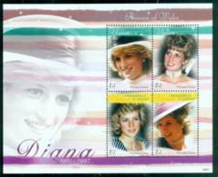 St Vincent Union Is 1997 Princess Diana In Memoriam, Britain's Beloved Princess MS MUH - St.Vincent & Grenadines