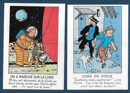Les Aventures De TINTIN - 5 Cartes éditions Arno 1984 - Comics