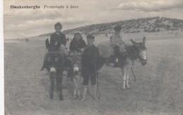 BLANKENBERGE / EZELTJES RIJDEN 1911 - Blankenberge