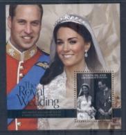 St Vincent Union Is 2011 Royal Wedding William & Kate #1103 $6 MS MUH - St.Vincent & Grenadines
