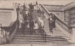 BLANKENBERGE / DE TRAPPEN IN DE WEST STRAAT 1921 - Blankenberge