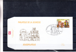 België / FDC / Strips - Childhood & Youth