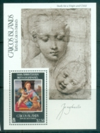 Caicos Is 1984 Raphael 500th Birth Anniv MS MUH - Turks And Caicos